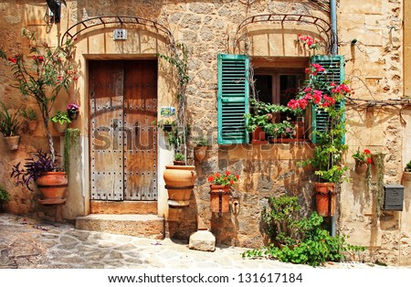old charming streets, Spain