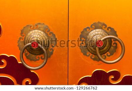 Old chinese door
