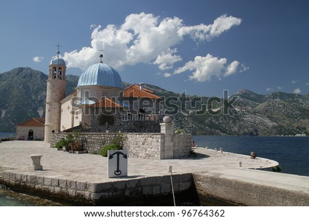 Old church in Montenegro
