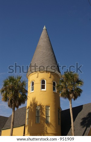 Old church steeple (St Augustine Florida)