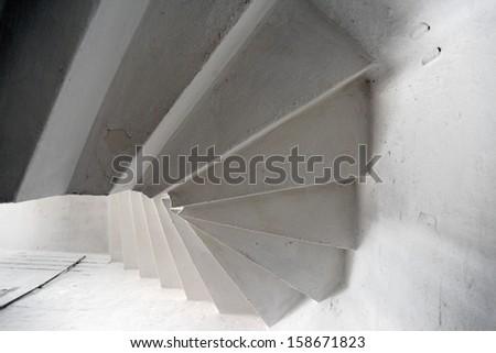Old circular stairs