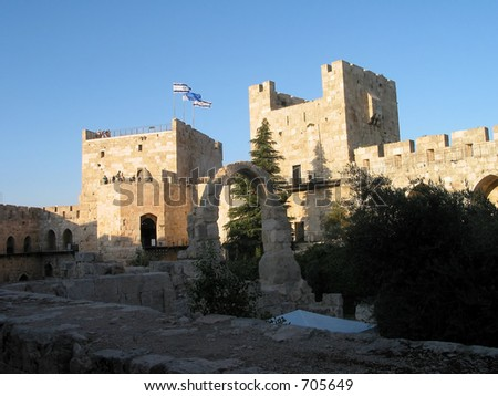 old city of david in jerusalem israel