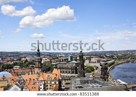 Old city of Dresden, Germany