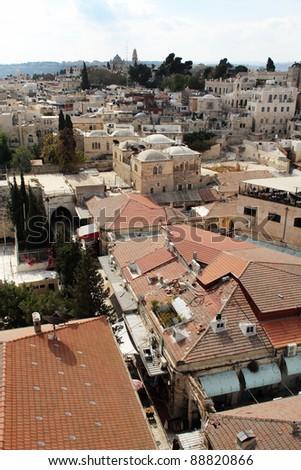 Old city of Jerusalem. Jewish quarter