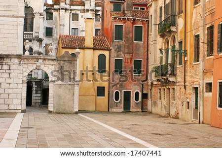 Old city view (Venice, Italy)