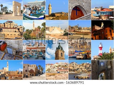 Shutterstock Old city Yafo. Mediterranean sea. Israel.