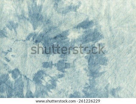 Old cloth. Blue and white color jeans texture background. Boho, bohemian, retro, grunge, vintage style. Vintage concept or conceptual old retro aged fabric. Soft pastel color, dark blue, white shades