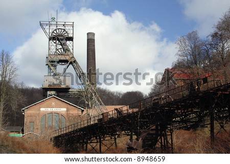 Old coal pit by name Ed. Urx ( Czech republic at Europe )