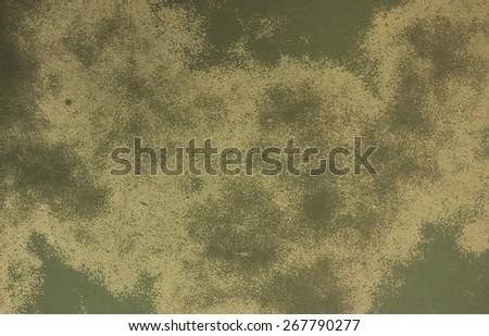Old color background, Green color image.