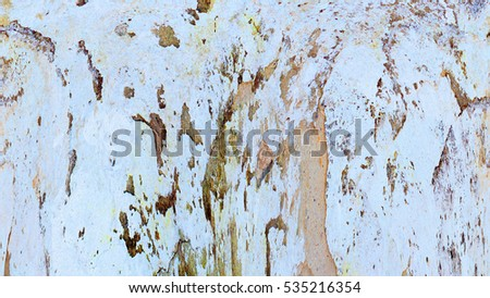 Old color grunge vintage weathered background. Abstract messy antique texture with retro pattern. Modern futuristic painted wall for backdrop, wallpaper or banner with copy space. Close up image #535216354