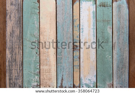 Old color wood texture and background #358064723