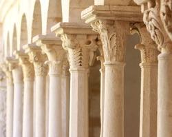 old columns.