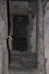 Old Communism bunker in tirana