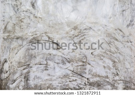 Old concrete or cement wall texture and background, Bare cement wall and floor for interior and exterior loft style, vintage background, abstract background, art backdrop, photo backdrop, dark idea #1321872911