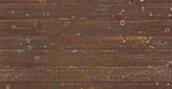 Old conifer brown wooden planks background, perfect for photo editing, rendering or desktop background.