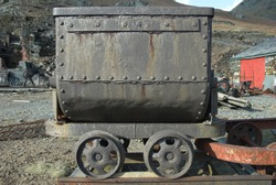 Old Copper Mine Cart
