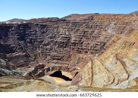 Old Copper mine, copper mine in Arizona