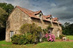 Old cottage in France.