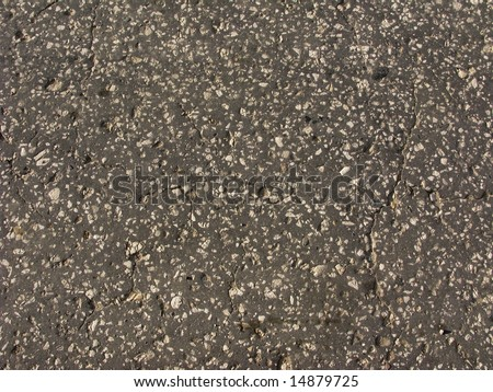 Old country asphalt road surface texture