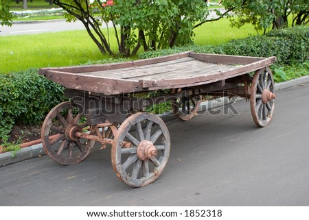 old country cart