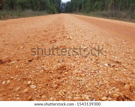 Old Country Dirt Red Dirt Gravel Road 3 #1543139300