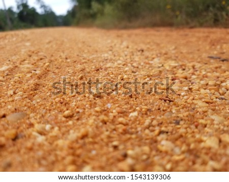 Old Country Dirt Red Dirt Gravel Road 4 #1543139306