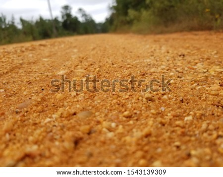 Old Country Dirt Red Dirt Gravel Road 5 #1543139309