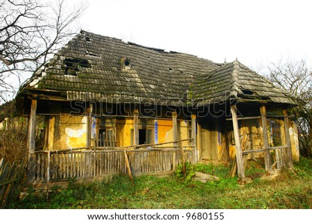 Old country house - stock photo