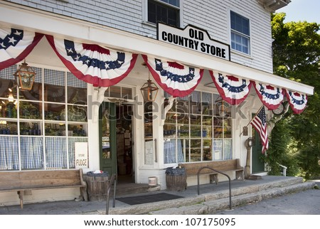 old country store in small new...