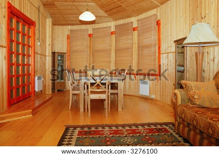 Old Country Style Dining Room interior