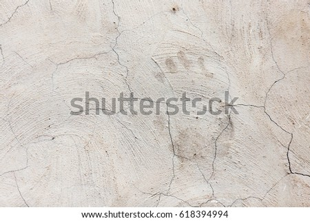 Old cracked concrete wall as a background #618394994