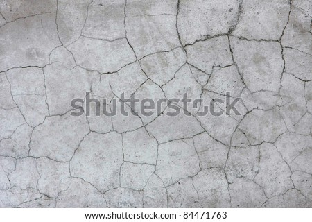 Old cracked wall background.