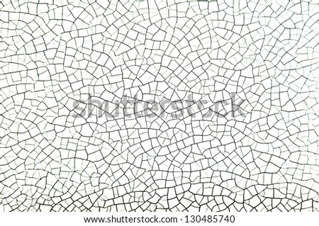Old cracked white leather texture background