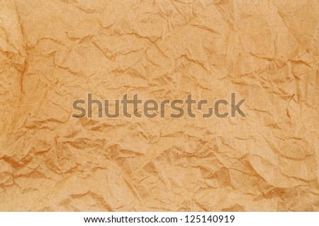 Old crumpled paper background