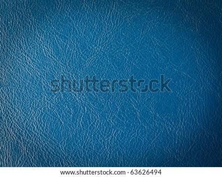 Old dark blue leather texture
