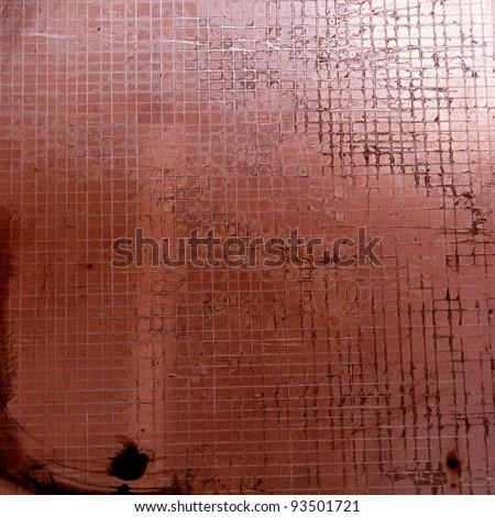 old dark brown window glass background