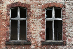 Old dilapidated building interior, urbex. Old dilapidated building eterior, urbex.