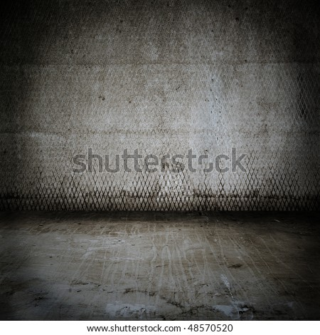 old dirty room