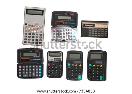 old dirty six calculators