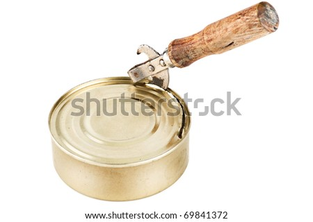 stock photo old dirty tin can opener with wooden handle opening tin can with food on white background 69841372 diagrams 443203 jvc kd s590 wiring diagram jvc kd s5050 wiring jvc kd g140 wiring diagram at edmiracle.co