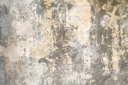 Old distressed wall backdrop, grunge background or texture
