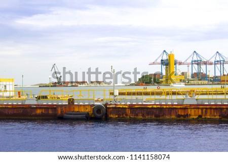 old dock pier