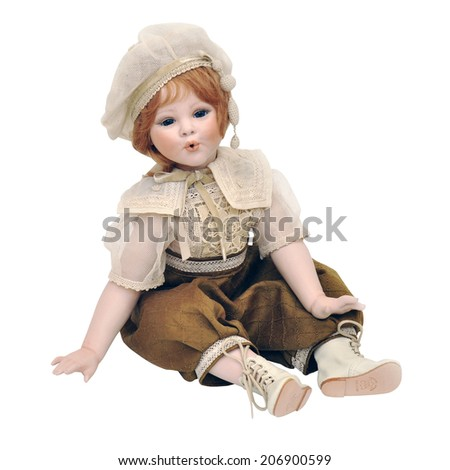 old doll