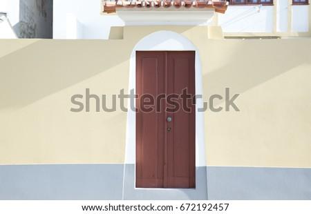 old door #672192457