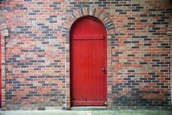 old door wall