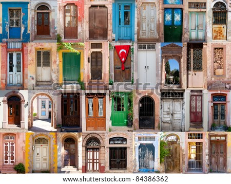 Old doors from Turkey