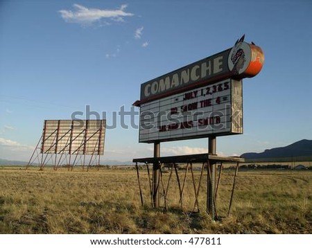 Old Drive-In Theater