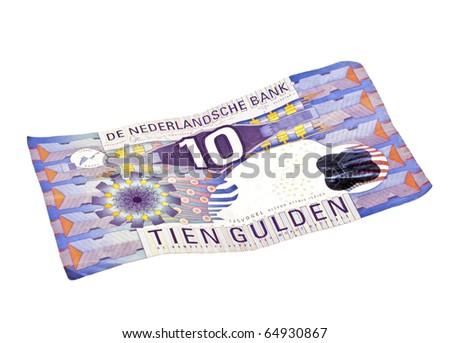 Old Money Notes Old Dutch Money Ten Guilder