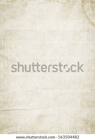 Old empty paper background. Paper texture. - Shutterstock ID 563504482
