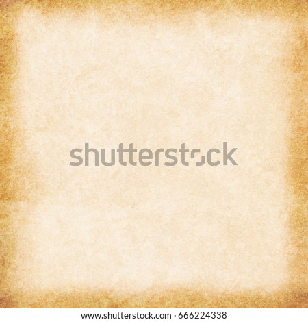 old empty stained beige vintage paper texture - Shutterstock ID 666224338